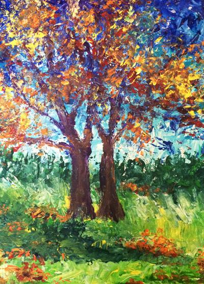 Fall tree wp